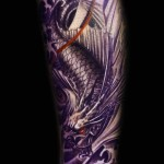 Dragon Fish 2 150x150 - 100's of Dragon Fish Tattoo Design Ideas Pictures Gallery