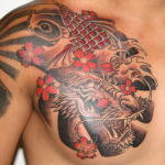 Dragon Fish 6 150x150 - 100's of Dragon Fish Tattoo Design Ideas Pictures Gallery