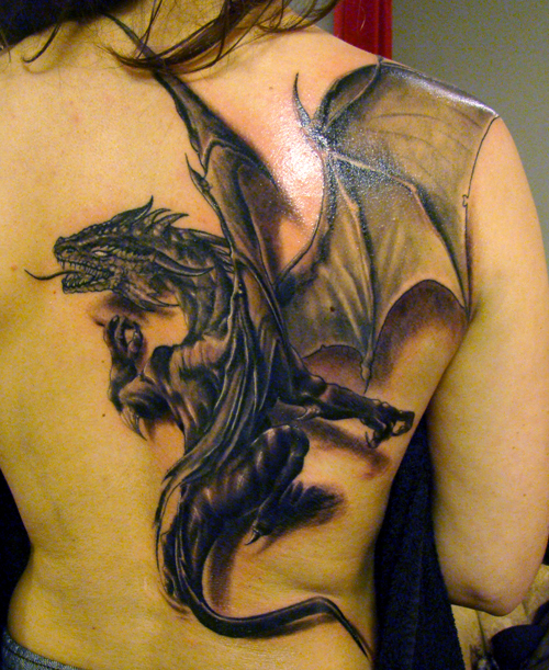 100's of Dragon Tattoo Art Design Ideas Pictures Gallery