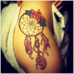 100's of Dreamcatcher Tattoo Design Ideas Pictures Gallery