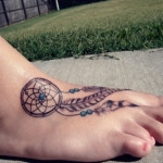 Dreamcatcher 8 150x150 - 100's of Dreamcatcher Tattoo Design Ideas Pictures Gallery