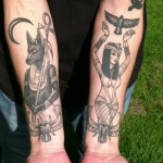 Egyptian 6 150x150 - 100's of Egyptian Tattoo Design Ideas Pictures Gallery