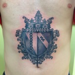 Family Crest 10 150x150 - 100's of Family Crest Tattoo Design Ideas Pictures Gallery