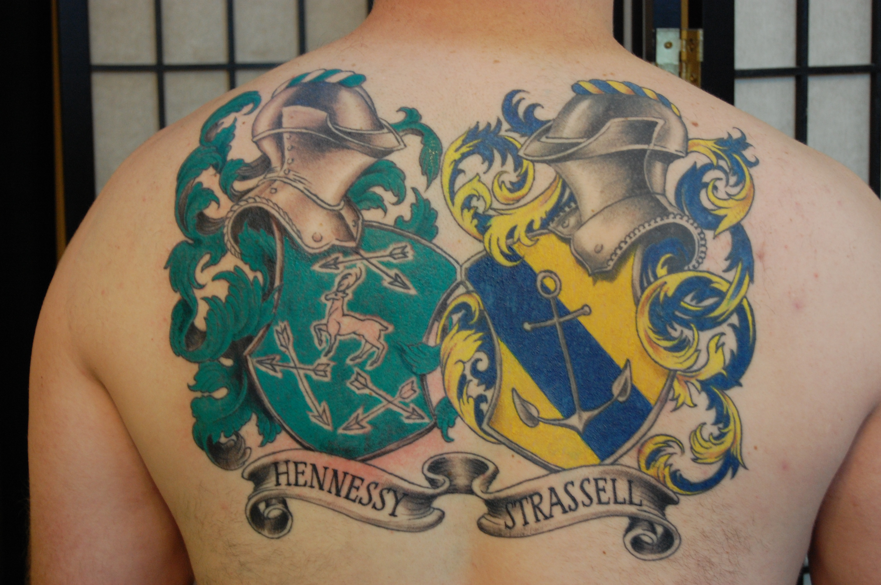 english coat of arms tattoo - photo #26
