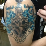 Family Crest 3 150x150 - 100's of Family Crest Tattoo Design Ideas Pictures Gallery