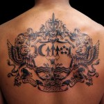Family Crest 4 150x150 - 100's of Family Crest Tattoo Design Ideas Pictures Gallery
