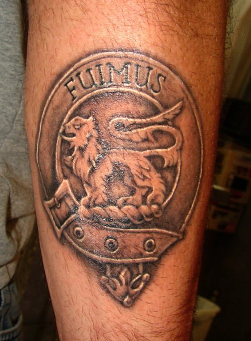 100s of Family Crest Tattoo Design Ideas Pictures Gallery