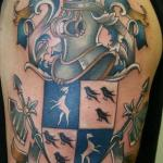 Family Crest 6 150x150 - 100's of Family Crest Tattoo Design Ideas Pictures Gallery