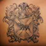 Family Crest 8 150x150 - 100's of Family Crest Tattoo Design Ideas Pictures Gallery