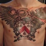 Family Crest 9 150x150 - 100's of Family Crest Tattoo Design Ideas Pictures Gallery
