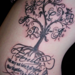 Family Tree 2 150x150 - 100's of Family Tree Tattoo Design Ideas Pictures Gallery
