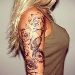 Female Tattoo 10 150x150 - 100's of Female Tattoo Design Ideas Pictures Gallery