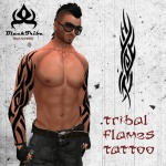 Fire Tribal Tattoo10 150x150 - 100's of Fire Tribal Tattoo Design Ideas Pictures Gallery