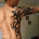 Fire Tribal Tattoo2 150x150 - 100's of Fire Tribal Tattoo Design Ideas Pictures Gallery