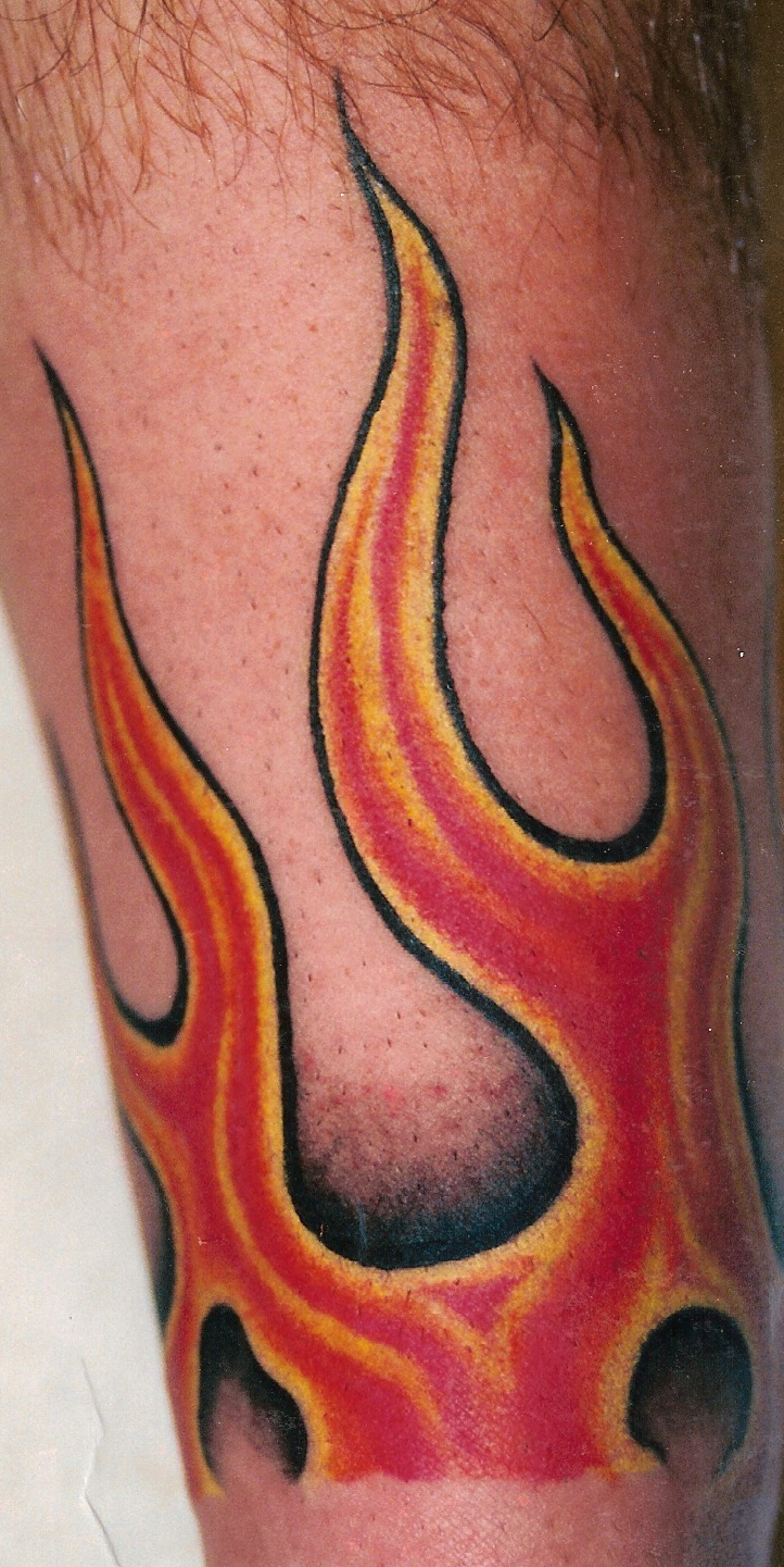 100 s of fire tribal tattoo design ideas pictures gallery for Tribal flames tattoo