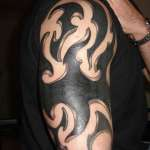 Flame Tribal Tattoo1 150x150 - 100's of Flame Tribal Tattoo Design Ideas Pictures Gallery