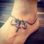 Foot Tattoos for Girls 10 150x150 - 100's of Foot Tattoo Design Ideas Picture Gallery
