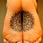 Foot Tattoos for Girls 11 150x150 - 100's of Foot Tattoo Design Ideas Picture Gallery