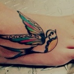 100's of Foot Tattoos for Girls Design Ideas Pictures Gallery