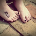 Foot Tattoos for Girls 4 150x150 - 100's of Foot Tattoo Design Ideas Picture Gallery