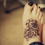 Foot Tattoos for Girls 6 150x150 - 100's of Foot Tattoo Design Ideas Picture Gallery