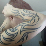 Forearm Tribal Tattoo12 150x150 - 100's of Forearm Tribal Tattoo Design Ideas Pictures Gallery
