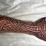 Forearm Tribal Tattoo2 150x150 - 100's of Forearm Tribal Tattoo Design Ideas Pictures Gallery