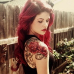 Girls Arm Tattoo 10 150x150 - 100's of Girls Arm Tattoo Design Ideas Pictures Gallery