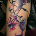 Girls Arm Tattoo 12 150x150 - 100's of Girls Arm Tattoo Design Ideas Pictures Gallery