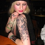 Girls Arm Tattoo 3 150x150 - 100's of Girls Arm Tattoo Design Ideas Pictures Gallery