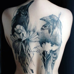 Girls Back Tattoo 6 150x150 - 100's of Girls Back Tattoo Design Ideas Pictures Gallery