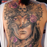 Girls Back Tattoo 7 150x150 - 100's of Girls Back Tattoo Design Ideas Pictures Gallery