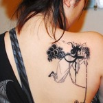 Girls Back Tattoo 8 150x150 - 100's of Girls Back Tattoo Design Ideas Pictures Gallery
