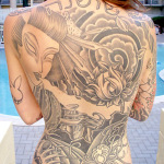 Girls Back Tattoo 9 150x150 - 100's of Girls Back Tattoo Design Ideas Pictures Gallery