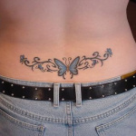 Girls Lower Back Tattoo 8 150x150 - 100's of Girls Lower Back Tattoo Design Ideas Pictures Gallery