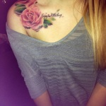 Girls Shoulder Tattoo 10 150x150 - 100's of Shoulder Tattoo Design Ideas Picture Gallery