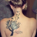 Girls Shoulder Tattoo 6 150x150 - 100's of Shoulder Tattoo Design Ideas Picture Gallery