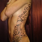 Girly Tribal Tattoo2 150x150 - 100's of Girly Tribal Tattoo Design Ideas Pictures Gallery