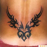 Girly Tribal Tattoo7 150x150 - 100's of Girly Tribal Tattoo Design Ideas Pictures Gallery