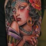 Gypsy 3 150x150 - 100's of Gypsy Tattoo Design Ideas Pictures Gallery