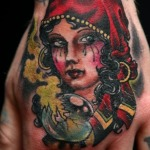 Gypsy 8 150x150 - 100's of Gypsy Tattoo Design Ideas Pictures Gallery