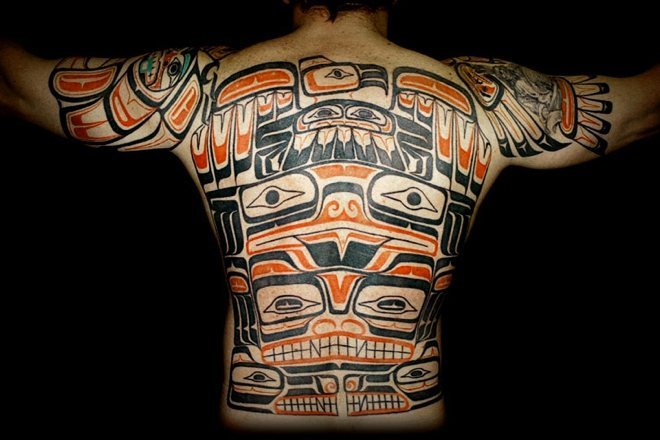 100's of Haida Tattoo Design Ideas Pictures Gallery
