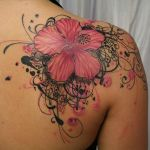 Hawaiian Flower Tattoos 8 150x150 - 100's of Hawaiian Flower Tattoo Design Ideas Pictures Gallery