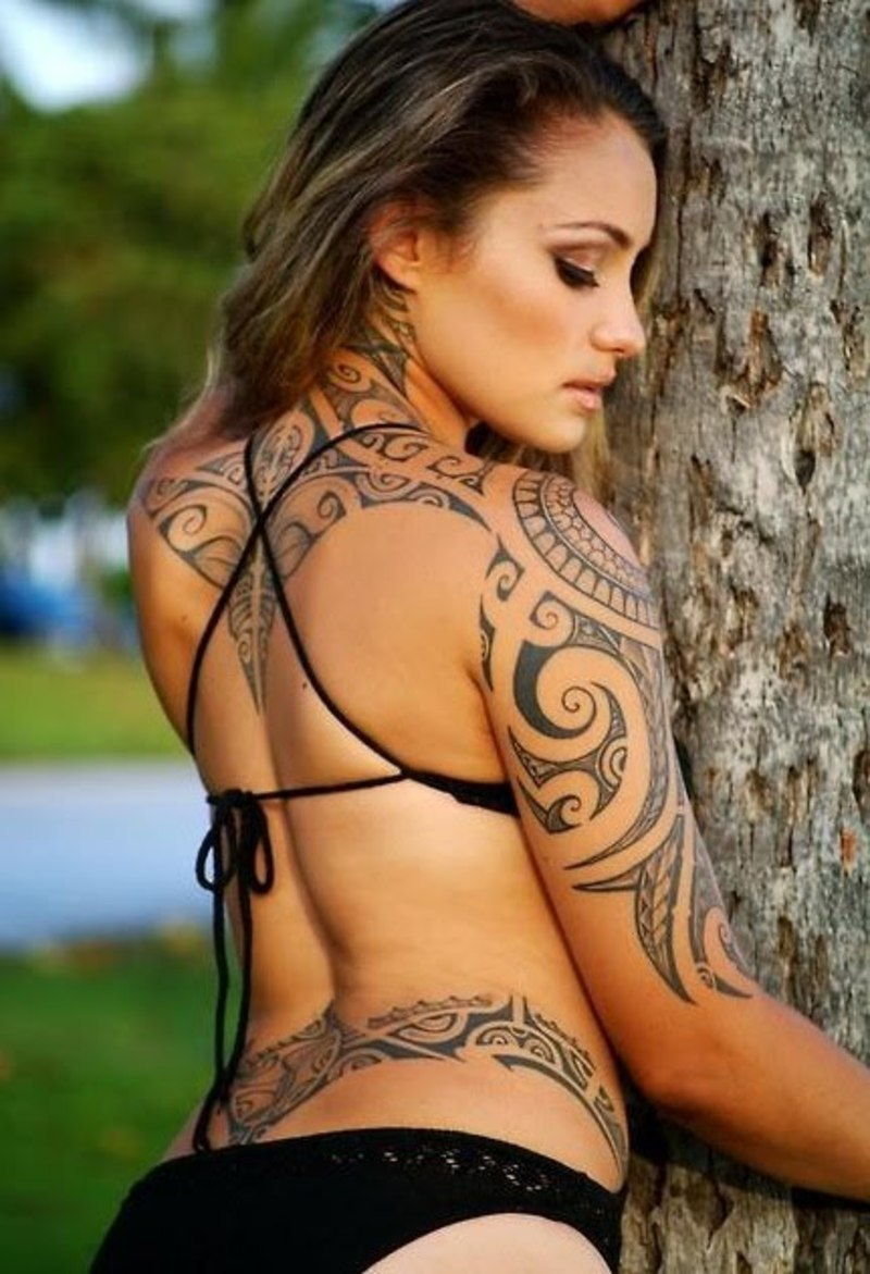 100's of Hawaiian Tribal Tattoo Design Ideas Pictures Gallery