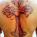 Heart Cross 123 150x150 - 100's of Heart Cross Tattoo Design Ideas Pictures Gallery