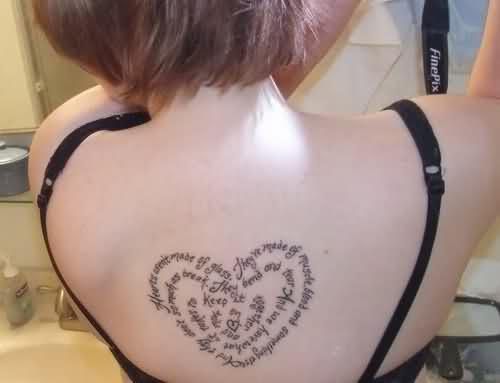 100's of Heart Tattoos for Girls Design Ideas Pictures Gallery