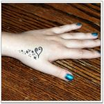 Heart Tattoos for Girls 5 150x150 - 100's of Heart Tattoos for Girls Design Ideas Pictures Gallery