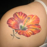 Hibiscus Tattoo 3 150x150 - 100's of Hibiscus Tattoo Design Ideas Pictures Gallery
