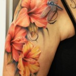 Hibiscus Tattoo 8 150x150 - 100's of Hibiscus Tattoo Design Ideas Pictures Gallery