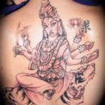 Hindu 10 150x150 - 100's of Hindu Tattoo Design Ideas Pictures Gallery